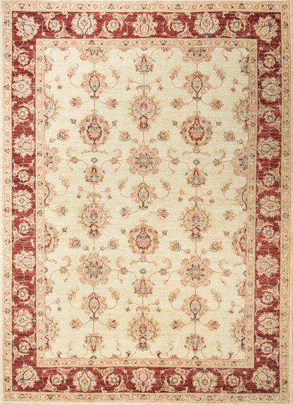 Пакистанский шерстяной ковер Ziegler Farhan BGE-RED b